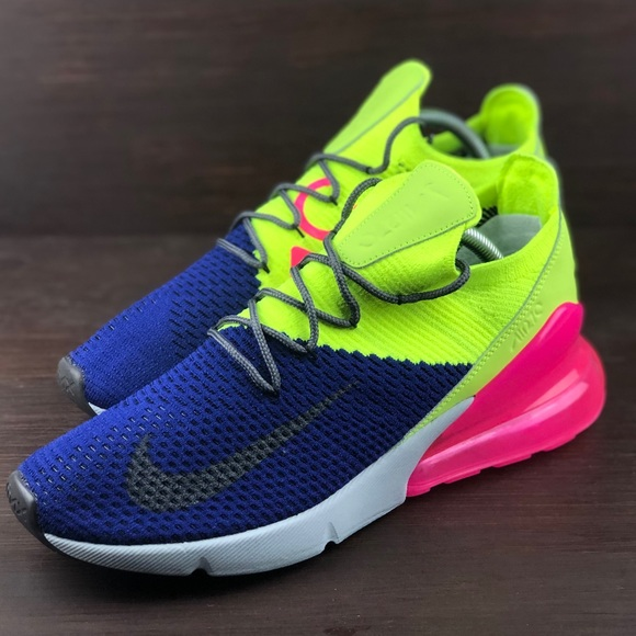 huge selection of a6ab8 cdfc1 Air Max 270 Flyknit Multi-Color